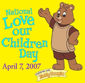 National Love Our Children Day - does LOVE is proof for EXISTENCE of GOD?