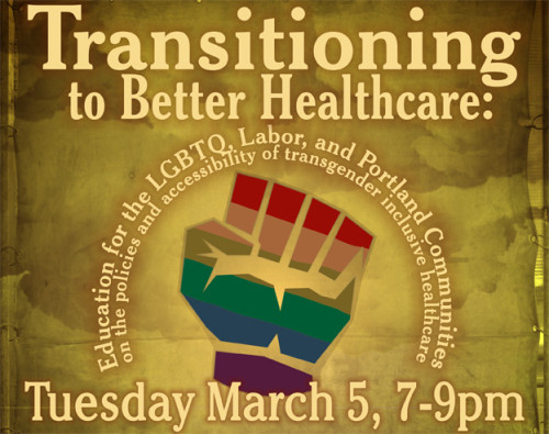 LGBTQ and Labor Orgs Launch Trans Month of Action at PSU - Proud ...