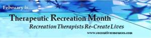National Therapeutic Recreation Month