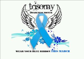 Pray For Lilly: March is Trisomy Awareness Month