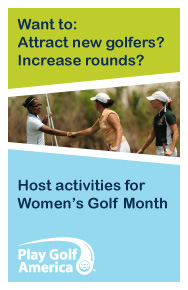 Women's Golf Month - Do you watch Golf on T.V.?