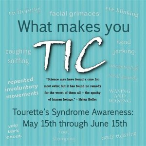 Tourettes Syndrome Awareness Month - Have You Heard of Tourette Syndrome?