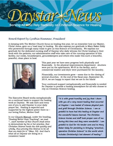 Daystar_Newsletter_Spring_2015