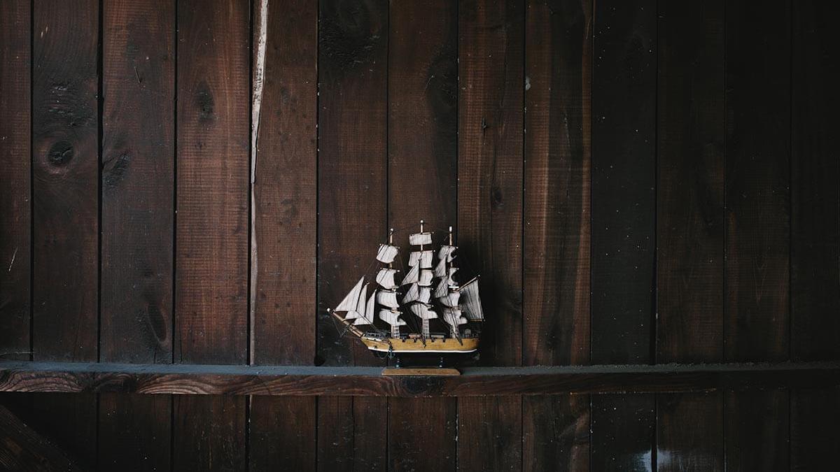 World class hand made miniature ships