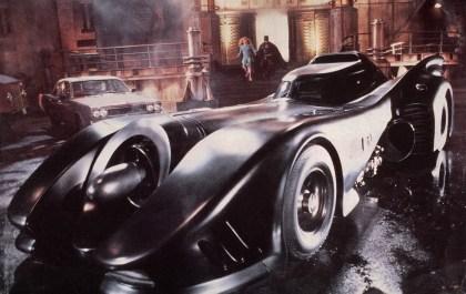 Batmobile - from Tim Burton's Batman