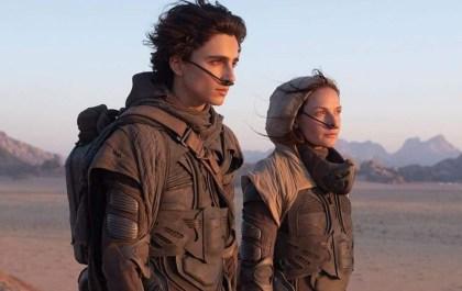Dune - Timothee Chalamet - Rebecca Ferguson
