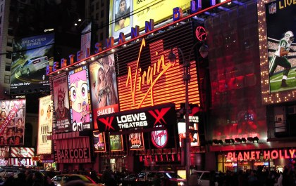 Virgin Megastore Times Square