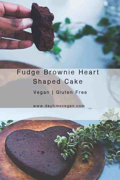 Homemade Chocolate Cake Vegan pinterest pin