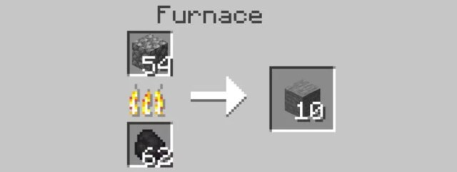 Use Furnace Again to Turn Stone into Smooth Stone