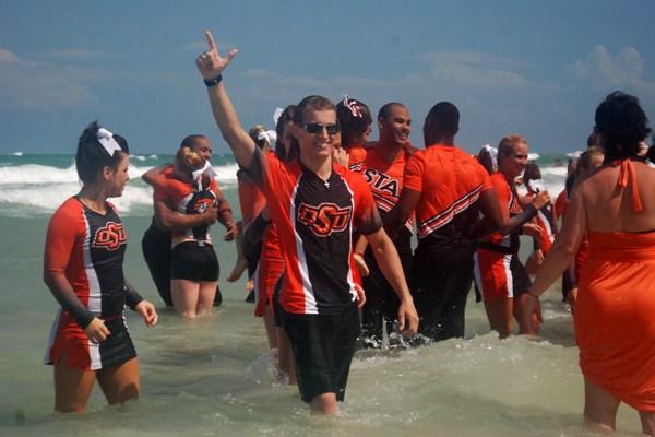 NCAA Cheerleading Competition - #1 on Daytona Beach