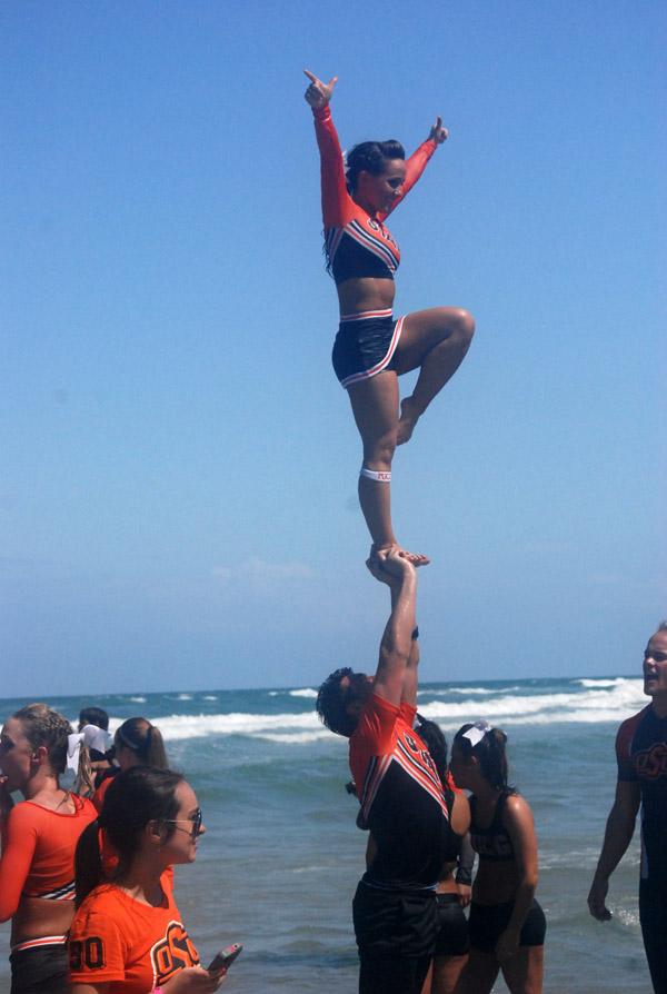 NCAA Cheerleading Competition - Daytona Beach Acrobat