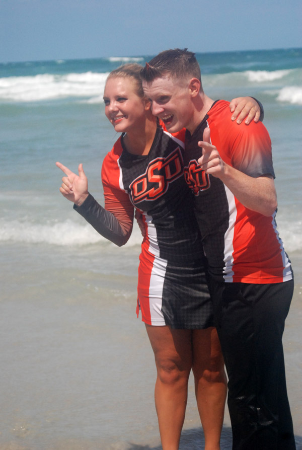 NCAA Cheerleading Competition - We are #1
