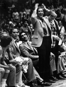 Don Donher in 1981 at the UD Arena