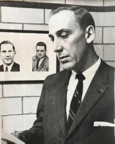Publicity still of Tom Frericks taken around 1956.