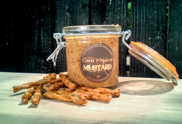 Dayton Comestibles Corn WhiskeyMustard, winner of the Ohio Signature Food Contest