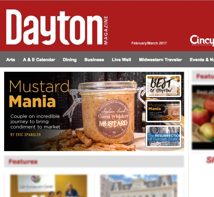 Dayton Magazine: Mustard Mania! Couple on incredible journey to bring condiment to market
