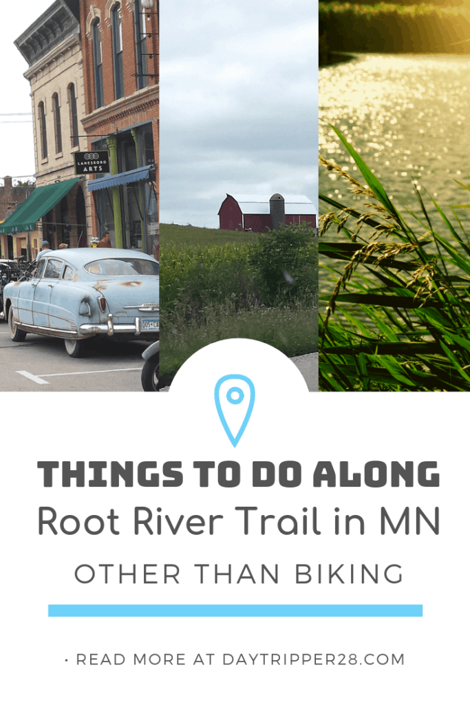 There is so much to do along the Root River trail beyond biking. Amish Tours | River Tubing | Antique Shopping and so much more! #Minnesota