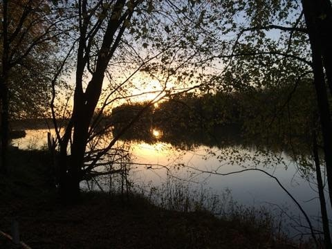 Minnesota River at Sunset