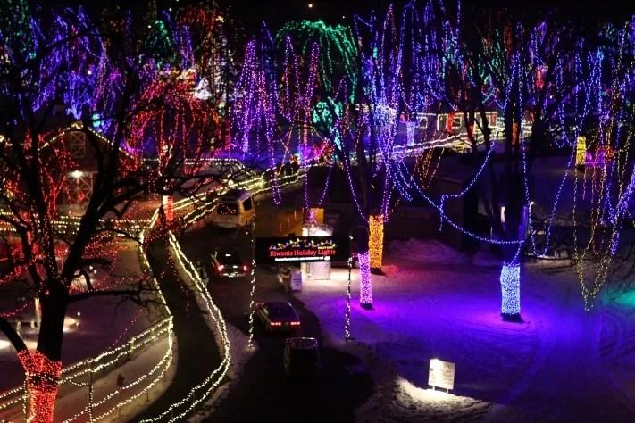 Kiwanis Holiday Lights in Mankato