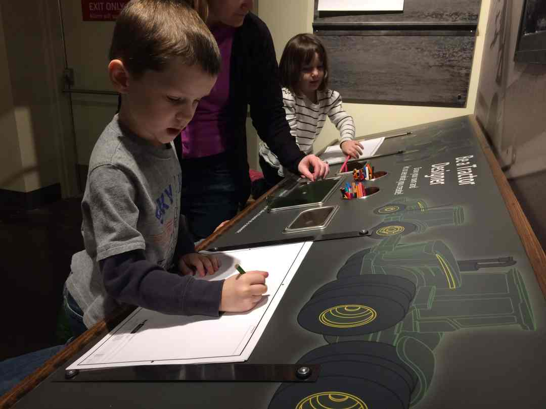 Design Lab at the John Deere Museum