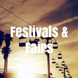 Fairs, Festivals