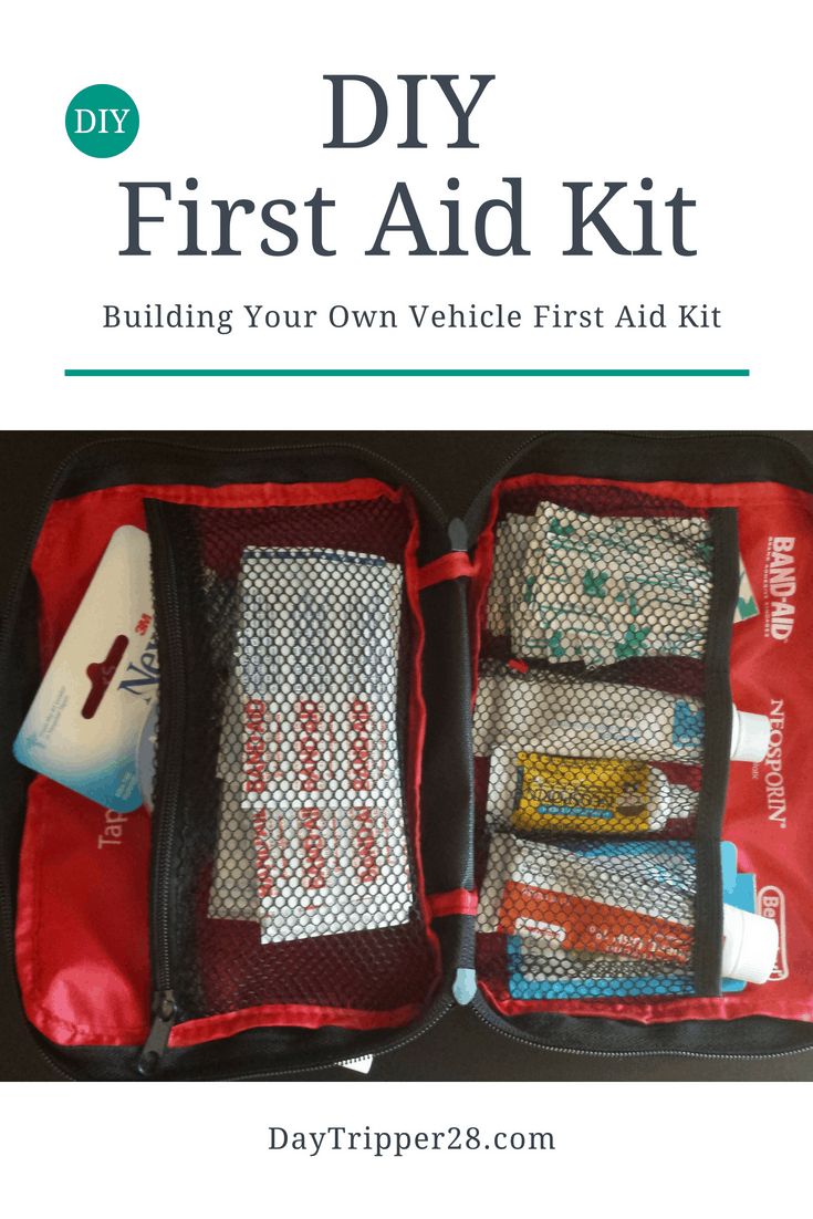 Building your own DIY Vehicle First Aid Kit | Road Trip | Travel Safety