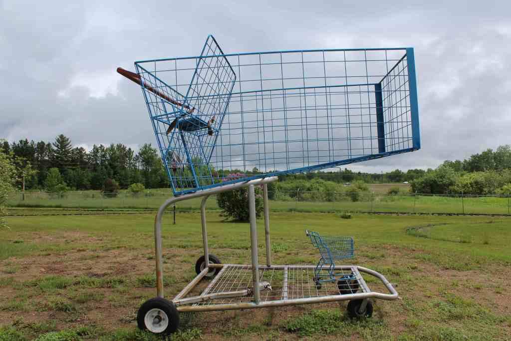 Shopping Cart Art