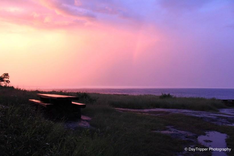 Sunset on Lake Superior Coast