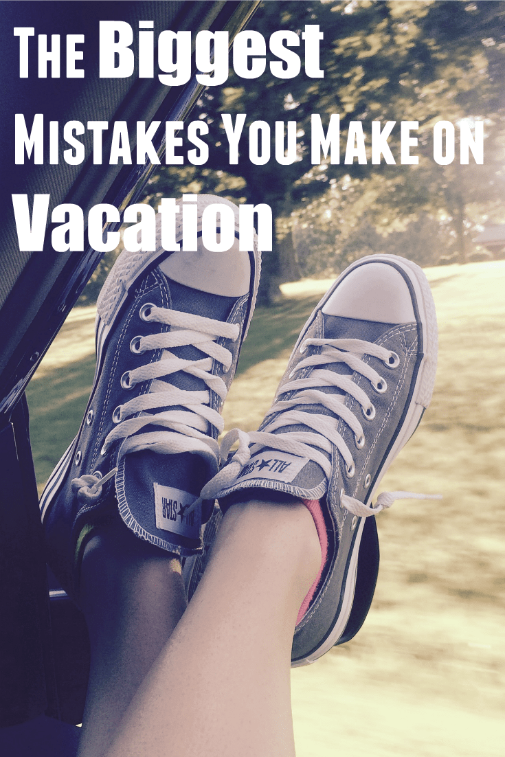 The Biggest Mistakes you Make on Vacation. You probably dont even know you are over planning for your family vacation.
