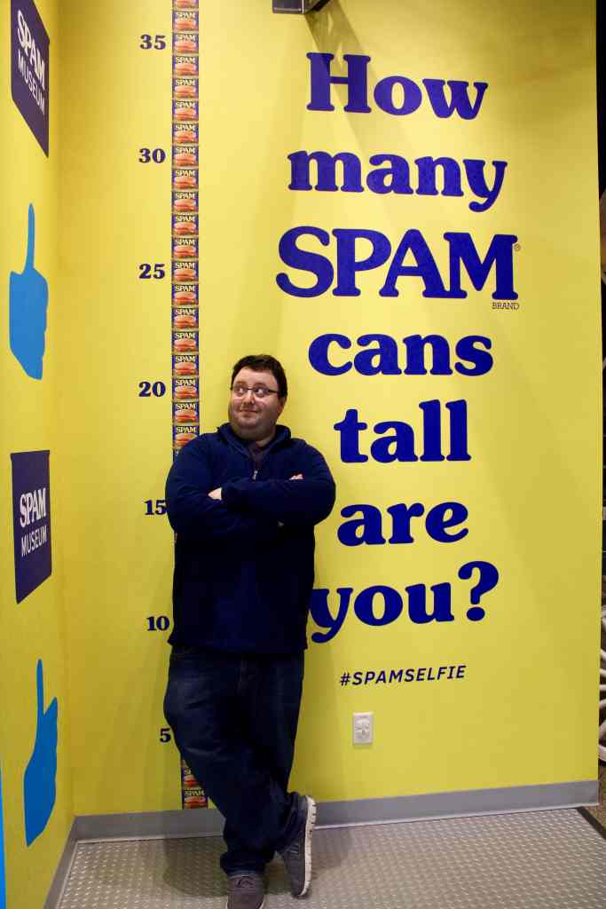 How Many SPAM Cans Tall Are You