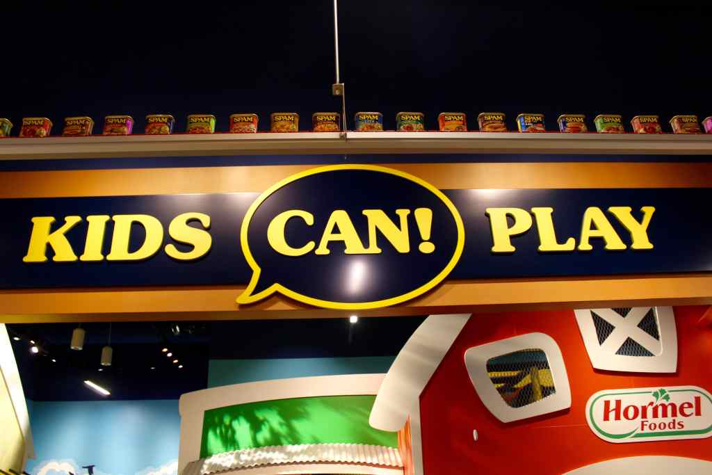Play Area in SPAM Museum in Austin