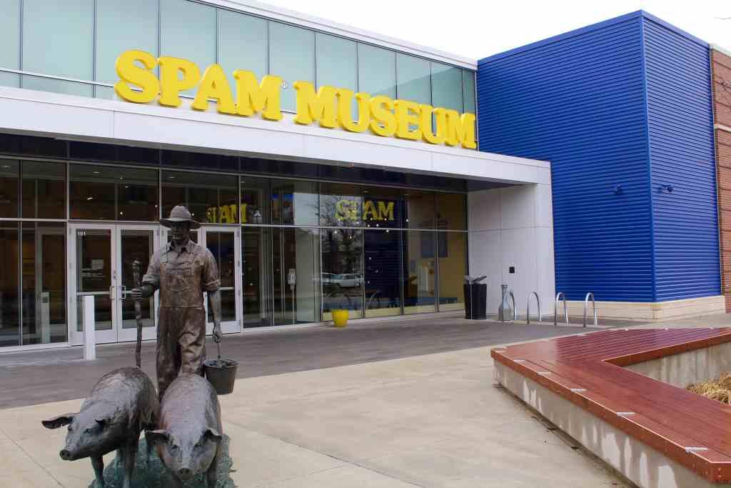 A peak inside the SPAM Museum in Austin MN