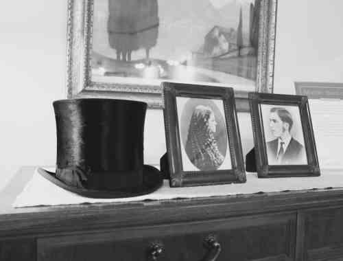 Top hat at Glensheen Mansion in Duluth