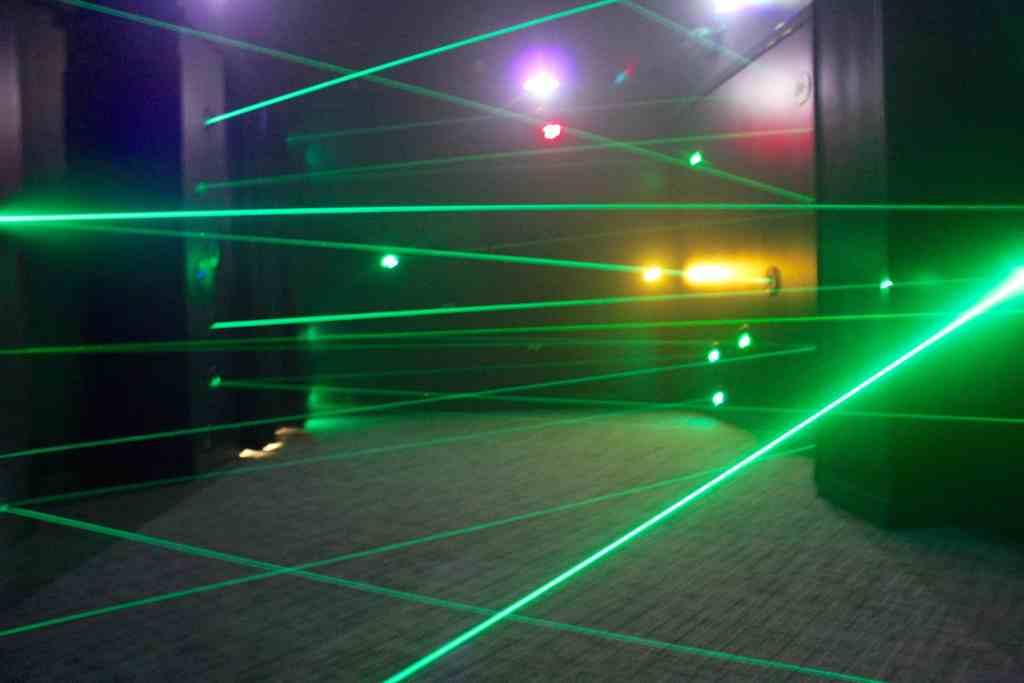 Minnesota Children's Museum Laser Room