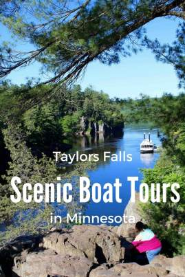 Family Fun an hour from the Twin Cities in Taylor Falls. The Paddleboat ride is a great Day Trip.