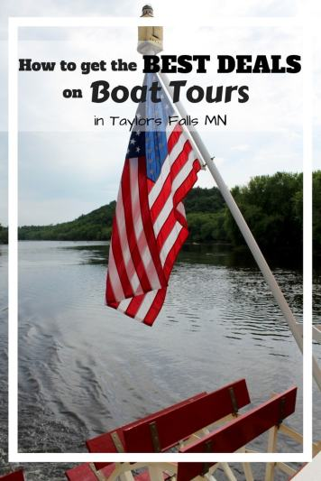 Planning a trip down the St. Croix River. Find out how to get the best discounts on tickets to the Taylor's Falls Scenic Boat Tours.
