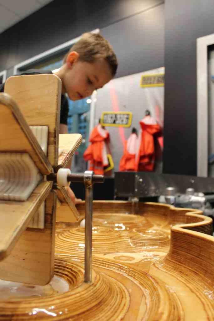 Minnesota Children's Museum Water Wheel