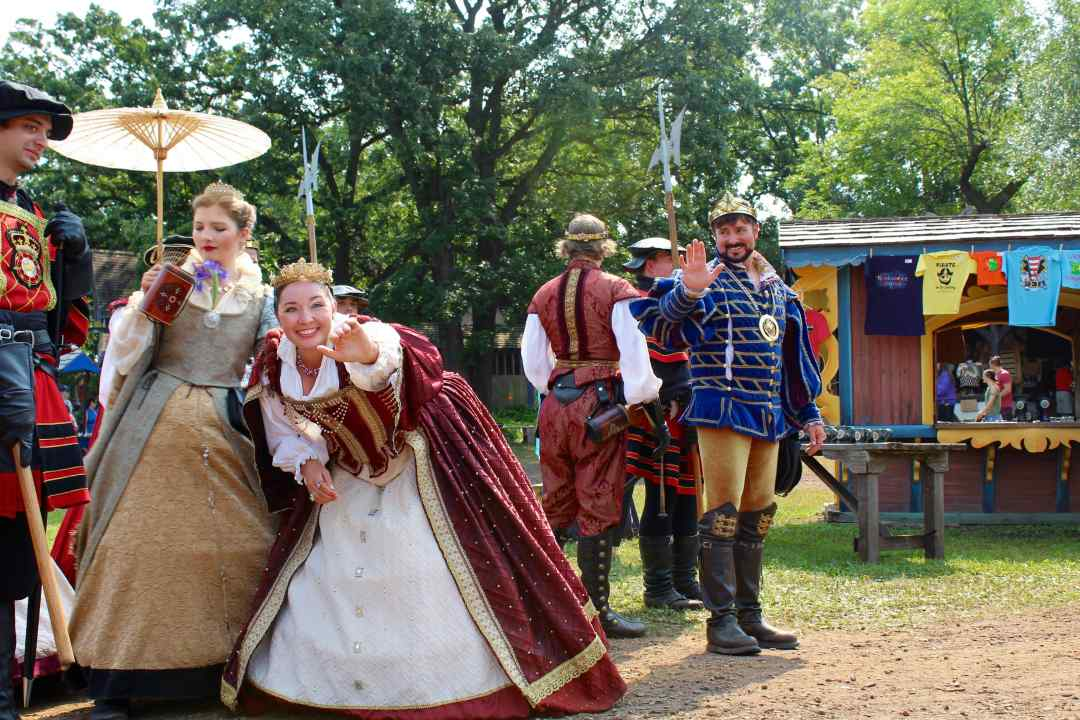 The Royal Court at the MN Ren Fest