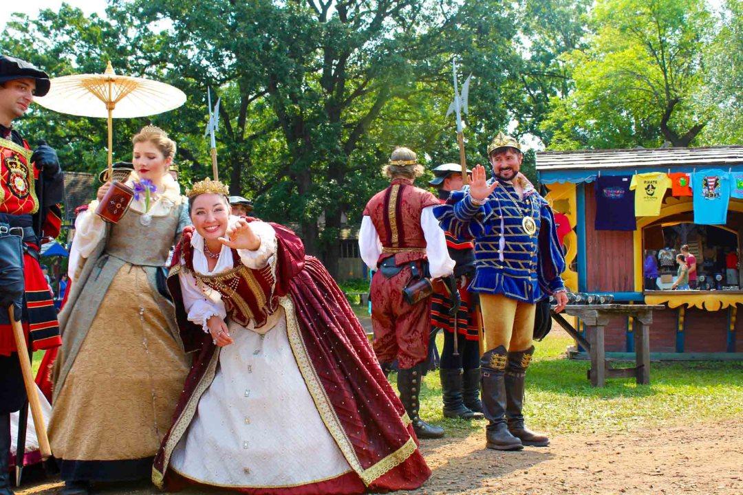 The Royal Court at the Minnesota Renaissance Festival