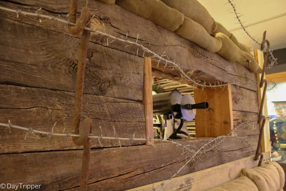 Minnesota Military Museum bunker