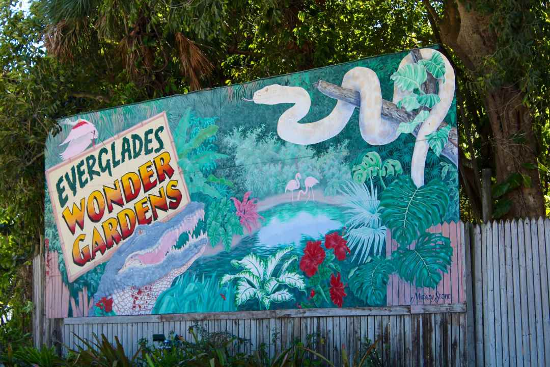 Everglades Wonder Gardens Bonita Springs Florida