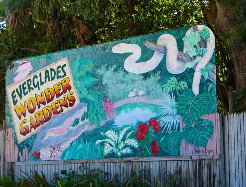 Everglades Wonder Gardens Bonita Springs Florida
