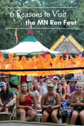 6 Reasons to go to the Mn Ren Fest. If you needed that many anyway!