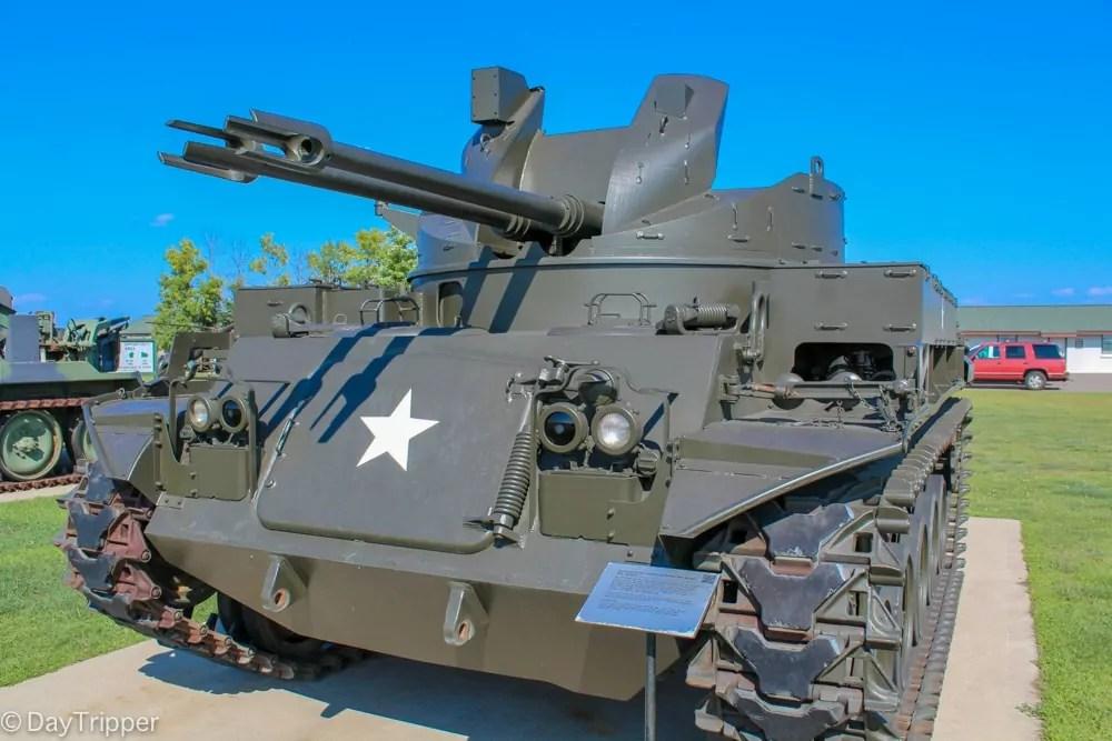 Tank at Camp Ripley