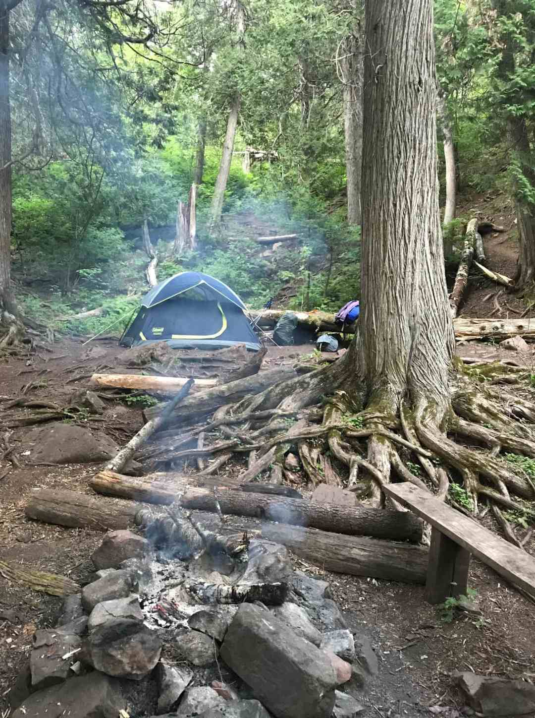 The Superior Hiking Trail Camp Sites