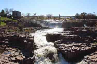Falls Park in Sioux Falls SD