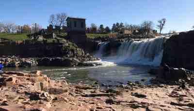 Sioux Falls Park Waterfall
