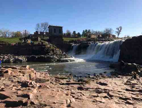 Sioux Falls Park Waterfall