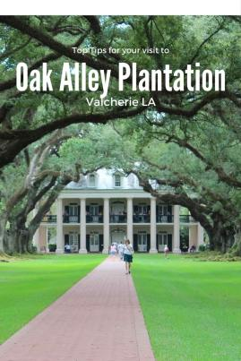 Top tips for visiting Oak Alley Plantation in LA. Just an hour from NOLA!