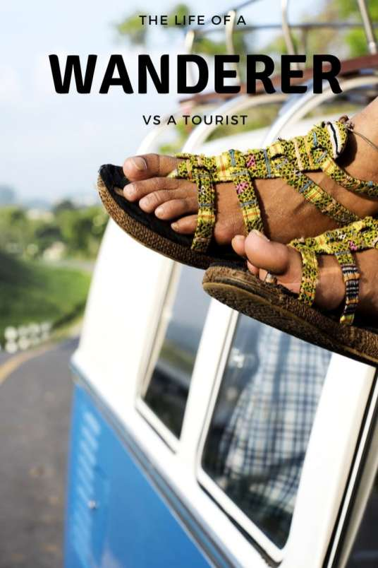 The life of a wanderer isn't always what it's cracked up to be? But is it better to be a Tourist? You decide?
